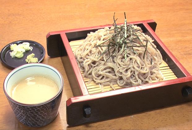 大島屋の蕎麦