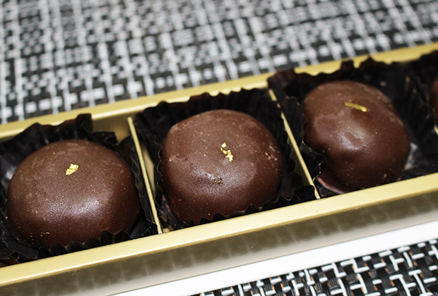 今回は、栗を使ったチョコレート「マロン・オ・ショコラ」