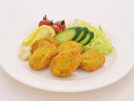 つけあわせの野菜などを添えれば、メインのお惣菜にも!