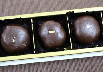 11月のテーマ:栗のお菓子 ③ジョンカナヤのマロン・オ・ショコラ