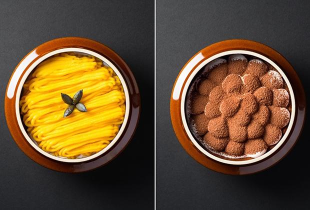 「えびすかぼちゃのスイーツパンプキン」か「釜ティラミス」のどちらかが選べる