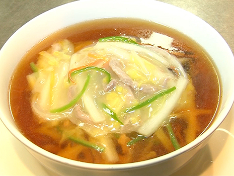 中国料理、特に花街仕様のメニューとなれば無難さが一つの特徴だ。