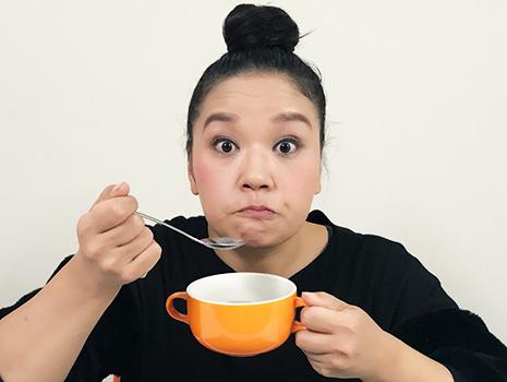 え?これさっきと同じスープ?というくらいめちゃめちゃダシが効いてます!
