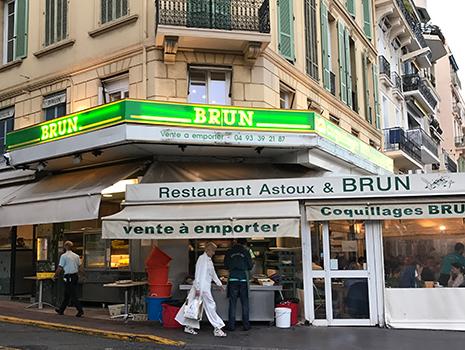 人気のシーフード・レストラン