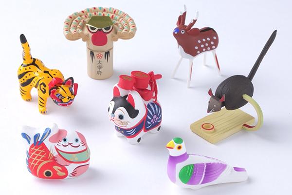 ガチャガチャで発見! 日本全国のかわいい「まめ郷土玩具」