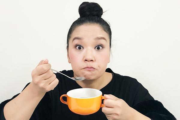 """「なにわのママP 吾妻聖子の""""おいしあわせ""""を探せ」12月のテーマ:スープ ①カネジョウのいその、わかめスープ"""