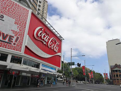 シドニーの繁華街キングス・クロスから徒歩5分ほどのポッツ・ポイント