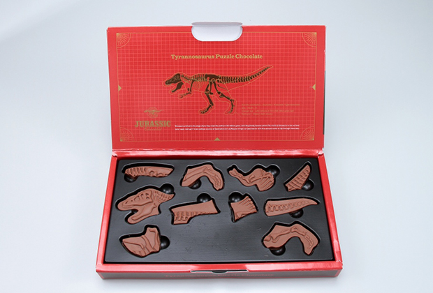 味にもこだわった恐竜パズル
