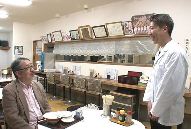 町とともに育ち町にこよなく愛される食堂を運営する四代目ご主人