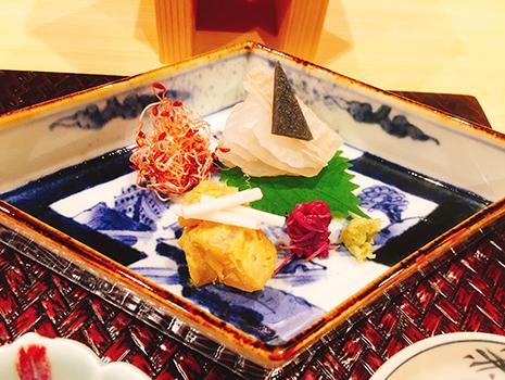 天ぷら以外の品々も工夫され酒が進む。