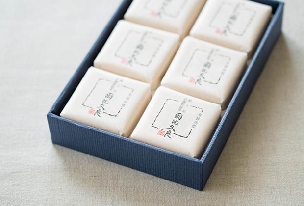 『爾比久良』は昭和天皇の御訪米に際し献上した和菓子。