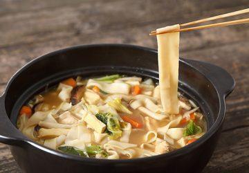 たっぷりの野菜と煮込んで、あったかヘルシー。埼玉・深谷名物の「煮ぼうとう」