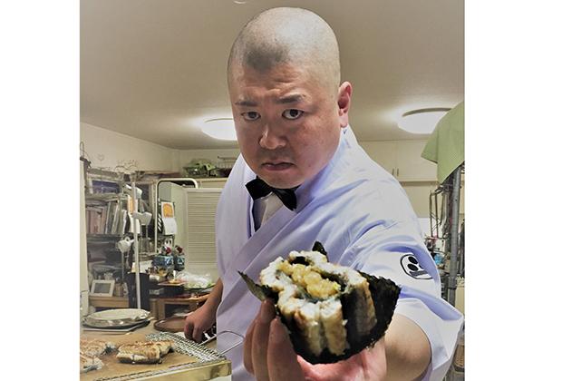 独特のポーズと大胆な演出で、一躍スターダムに躍り出たのが、北九州の「照寿司」