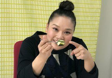 チーズケーキ:京都ヴェネトの『京都宇治抹茶 生チーズケーキジェミニ』