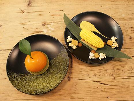 秋の新作デザートの「ビッグ・オレンジ」と「コーニバル」!