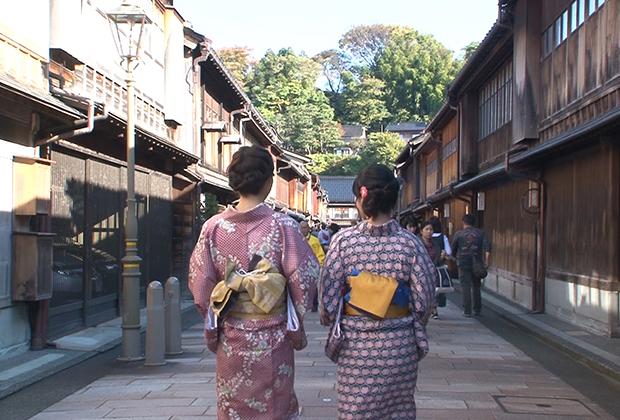 金沢に残る花街の一角、女性的で繊細な洋食に古都を感じる