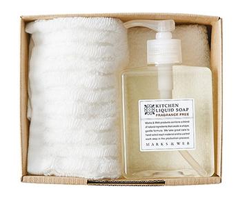 食器用洗剤とハンドタオルのセット/MARKS&WEB