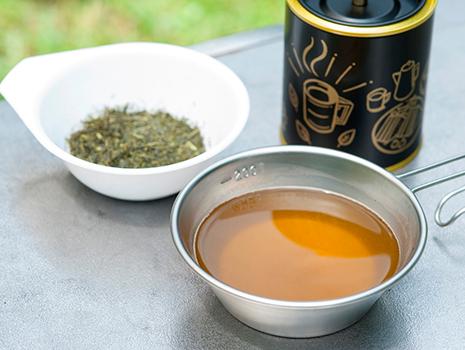 フレッシュな色と香りのほうじ茶が完成! 濃いめに煮出し、チャイをつくるのもいい
