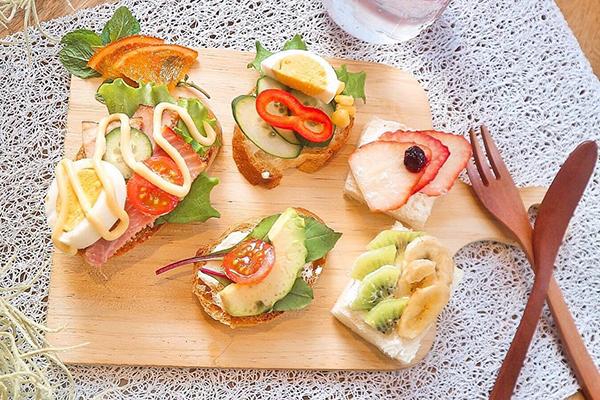 """インスタで話題の""""オープンサンド""""の試食会に潜入!美味しい食材てんこ盛りのかわいい写真が撮れました!"""