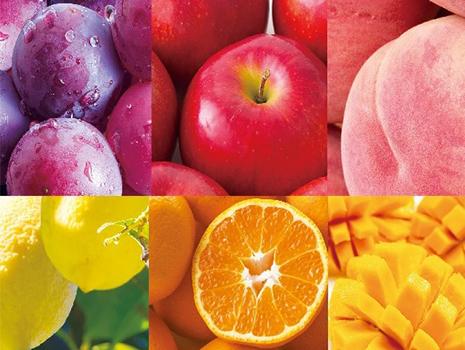 最初は、りんご、ぶどう、ももの3種類の味で発売。