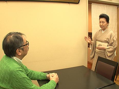 三島由紀夫が前夜に来訪した当時の女将さんは今でもご健在である。