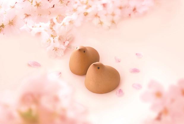 春限定&福岡限定の「桜ひよ子」