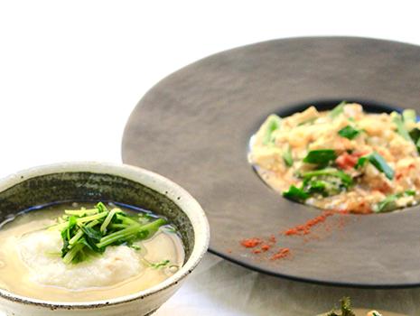 発酵の過程を経た調味料を使用するだけで、料理に深みやコクが出て、野菜の味も引き立ちます