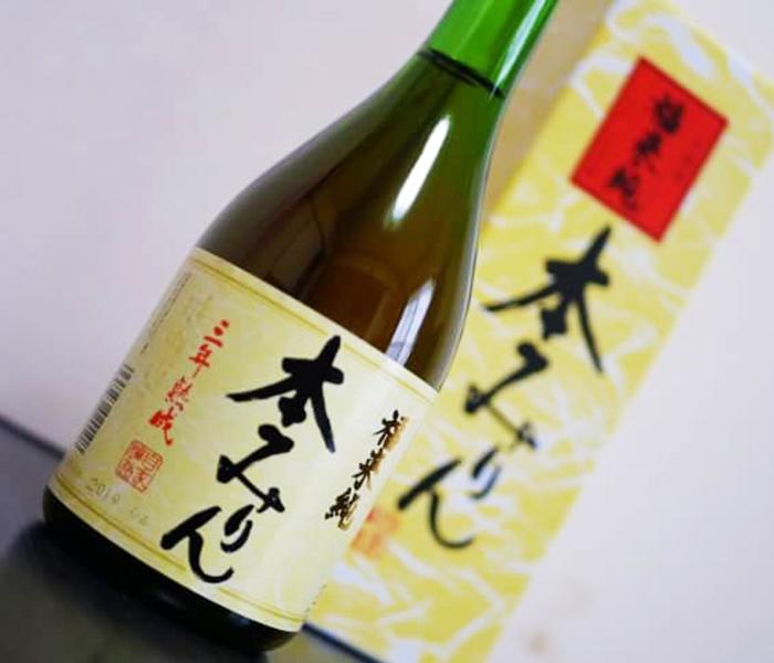 伝統製法熟成本みりん/白扇酒造株式会社