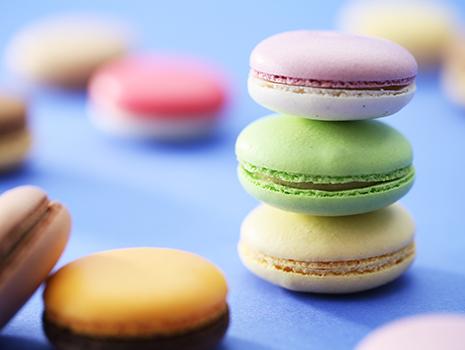 マカロンやタルト、フィナンシェなど本場フランスに学んだ焼き菓子に定評がある