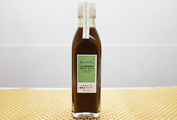 最後は小豆島の井上誠耕園の『パスタソース 醤油&ペッパー』です