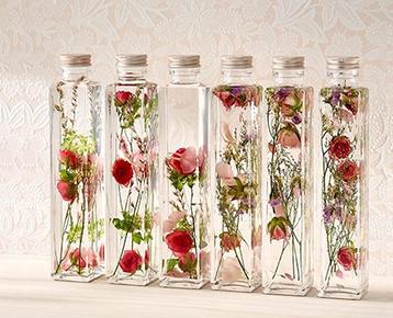 母の日 Healing Bottle『Thanks with Flowers』(2本セット) / 日比谷花壇