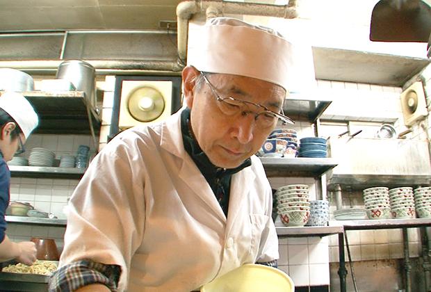 「変えない」という使命感でうどんを作り続けてこられたご主人こそ、大阪が誇る職人気質であろう