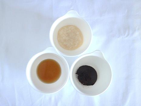 豆味噌、甘酒(濃縮タイプ)、黒酢
