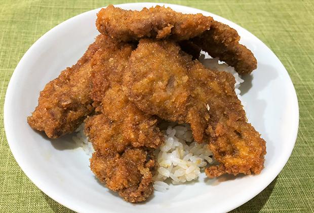 ●アレンジレシピ【ソースかつ丼】