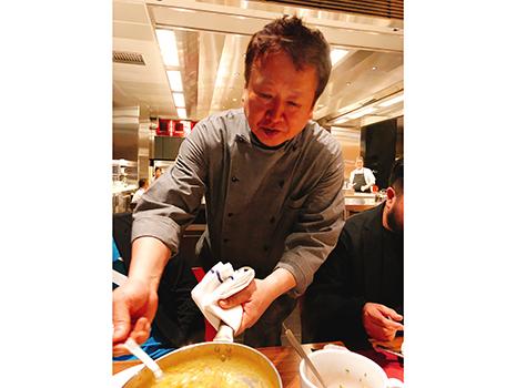 山田宏己さんの新店「テストキッチンH」のお披露目会へ