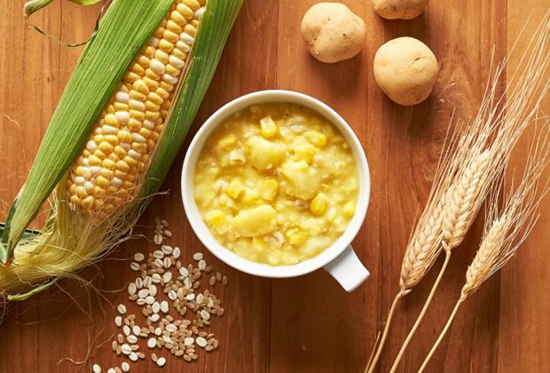 「病気の時に食べる」イメージが強かったおかゆですが、potayuは日常的に食べられる新しい食事なのです