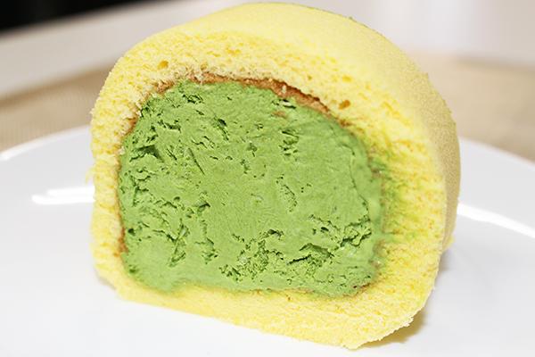 ロールケーキ:京都府・茶游堂の『濃茶ロールケーキ』