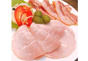 徹底したこだわりの製法で肉本来の旨みを味わえる「無添加ハムベーコンスライスお試しセット」
