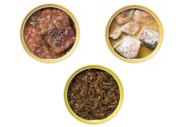 三種類の味が楽しめるオリジナルセット