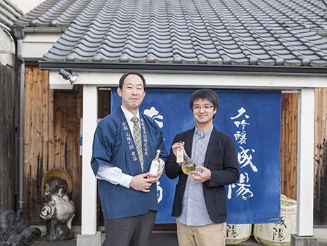 2016年「京都ミードプロジェクト」を立ち上げ、京都の酒造会社「城陽酒造」をパートナーにオリジナルのミードづくりに着手します