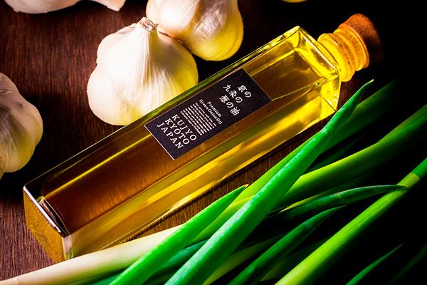 九条ねぎ×イル・ギオットーネ×山中油店。京都発信の香味油「京の九条の葱の油」