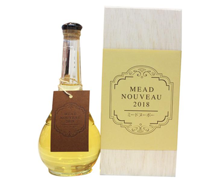 ミードヌーボー2018(木箱入り)500ml/miel mie(ミールミィ)・株式会社金市商店