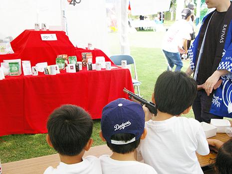 親子連れの来場者も多く、子どもの賑やかな声で溢れていました