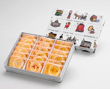 ビスカウト 18枚缶入り / 馬車道十番館