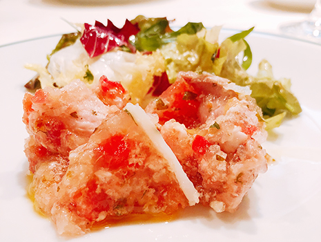 フランス料理界の至宝のひとり、三谷青吾シェフの「レスプリミタニアゲタリ」へ