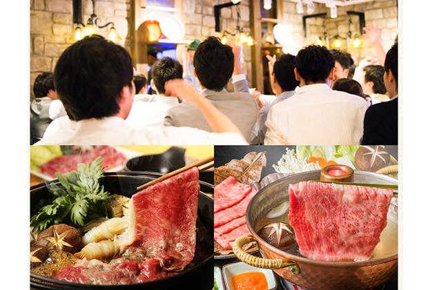 関西三大和牛(松阪牛、神戸牛、近江牛)を中心とした贅沢なラインナップ
