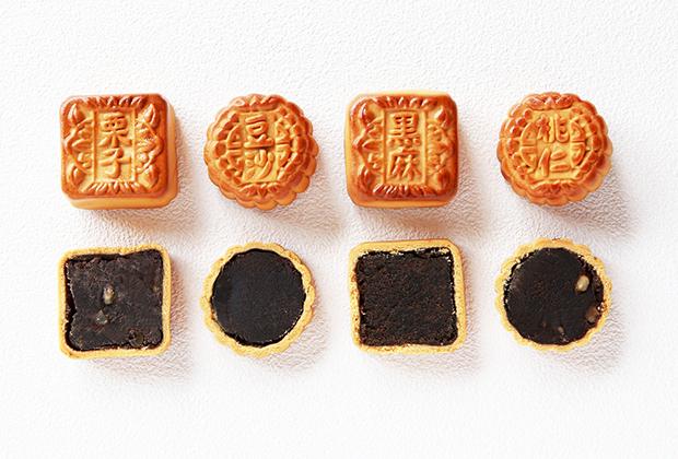 個性豊かな重慶飯店の「月餅」を一度に楽しめるセットです