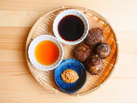 伝統の製法で丁寧に作られた栄養たっぷりの「臨醐山黒酢」を使った秋を感じるレシピをご紹介します