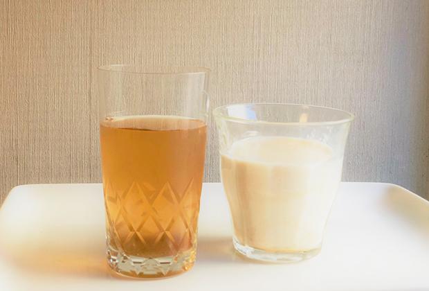 おいしい飲み方は炭酸や冷水、お湯割りも。さらに牛乳で割っても