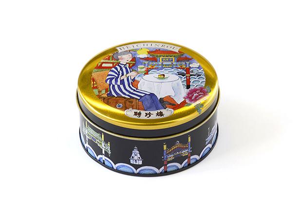 今年も聘珍樓は、好評のお月見をデザインした「中秋節限定ギフト缶」を用意
